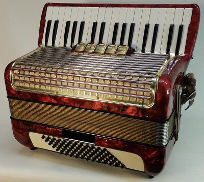 Hohner Concerto III rot 2. Design